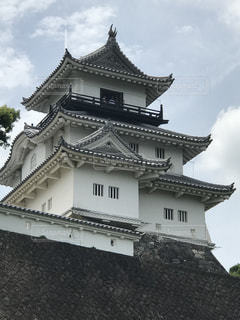 静岡県掛川市の掛川城の写真・画像素材[1210949]