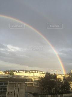フランスの虹の写真・画像素材[1229082]