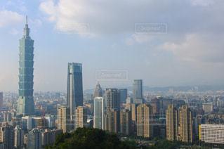 台湾 象山からの景色の写真・画像素材[1212254]