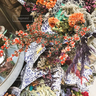色とりどりの花の写真・画像素材[1211957]