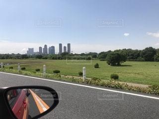 車からの景色の写真・画像素材[1225097]