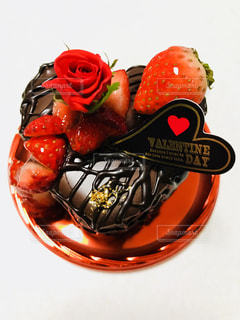 バレンタインケーキの写真・画像素材[1216228]