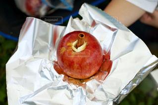 焼きりんごの写真・画像素材[1517670]
