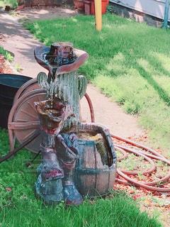 ウェスタンな水道の写真・画像素材[2515017]