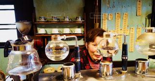 昭和が残る喫茶店の写真・画像素材[1215643]