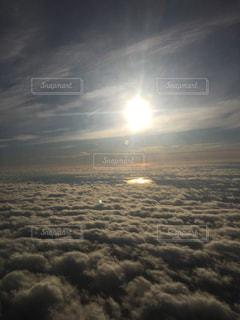北欧の空の上の写真・画像素材[1226710]