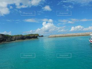 竹富島港の写真・画像素材[1213339]