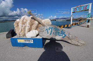 竹富島の看板の写真・画像素材[1213340]