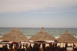 ベトナムダナンのビーチの写真・画像素材[1225818]