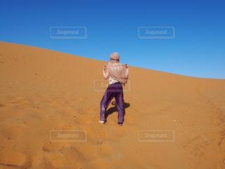 サハラ砂漠の写真・画像素材[1223262]