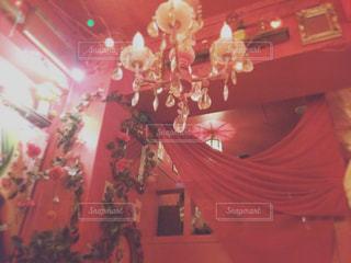 赤い部屋の写真・画像素材[1215429]
