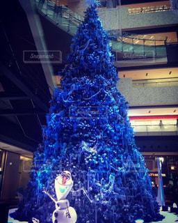 アナと雪の女王のクリスマスツリーの写真・画像素材[1235599]