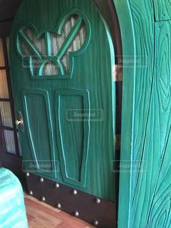 ミッキーの家の入り口の写真・画像素材[1244188]