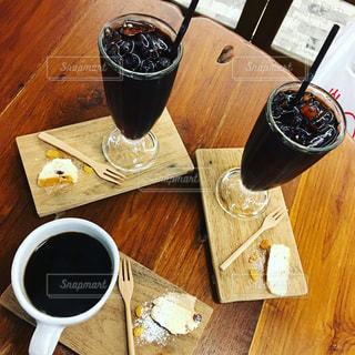 アイスコーヒーの写真・画像素材[1214226]