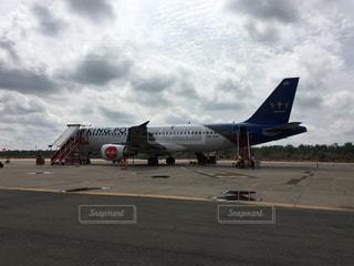 ブリラムの空港 Air Asiaの写真・画像素材[1214769]
