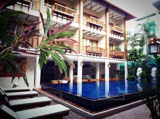 チェンマイのホテルの写真・画像素材[1226136]