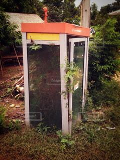 公衆電話ボックスの写真・画像素材[1259295]