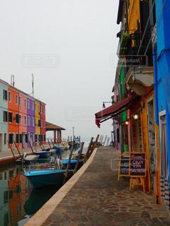 ブラーノ島の写真・画像素材[1215737]