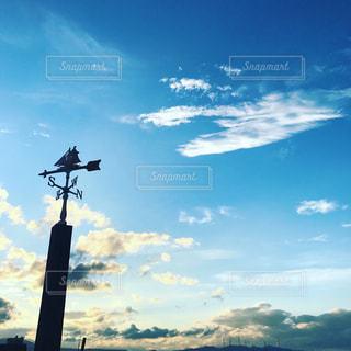 台風一過の空の写真・画像素材[1215928]