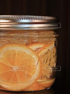レモンのはちみつ漬けの写真・画像素材[1224565]