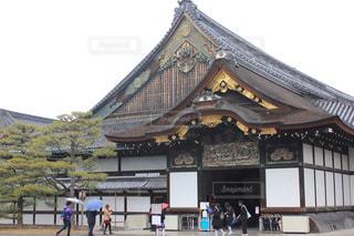 観光地京都ステキな雨の二条城の写真・画像素材[1229506]