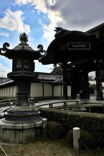 歴史ある京都の寺院の写真・画像素材[1229510]