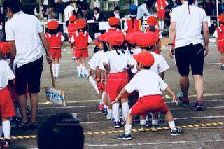 子どもの運動会の写真・画像素材[1232280]