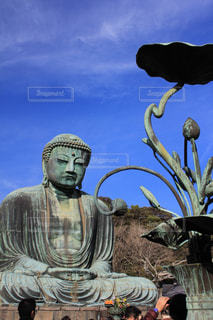 鎌倉の大仏の写真・画像素材[1243159]