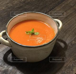 スープのボウルの写真・画像素材[1388308]