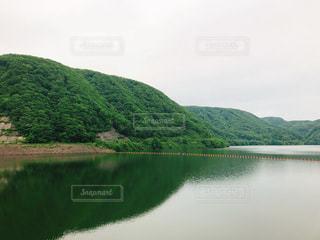 漆沢ダムの写真・画像素材[1215528]