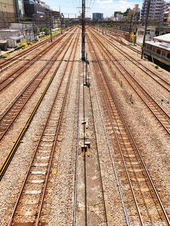 線路の写真・画像素材[1218001]