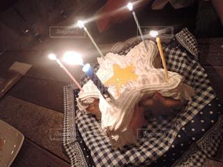 1つ星ケーキの味は3つ星だった。の写真・画像素材[1215264]