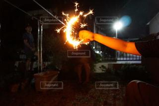 平成最後の夏も大好きな人たちと花火での写真・画像素材[1447098]