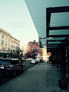 街の通りの写真・画像素材[1232911]