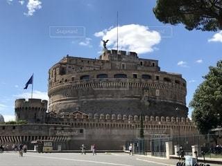 サンタンジェロ城の上にの写真・画像素材[1281809]