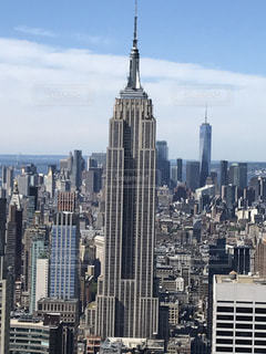 エンパイア ・ ステート ・ ビルディングの大規模な高層ビルの写真・画像素材[1294287]