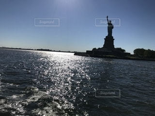 水体の大型船の写真・画像素材[1294935]