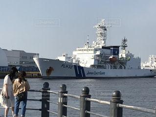 水体の大型船の写真・画像素材[1436618]