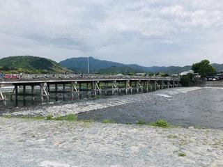水域に架かる橋の写真・画像素材[2264908]