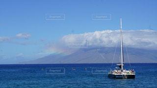 この船でモロキニ島への写真・画像素材[1216235]