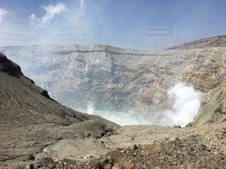阿蘇山火口の写真・画像素材[1218485]