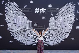 JBRに天使がやってきましたの写真・画像素材[1285864]