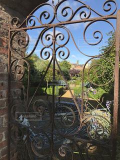 コッツウォルズの庭の写真・画像素材[1222577]