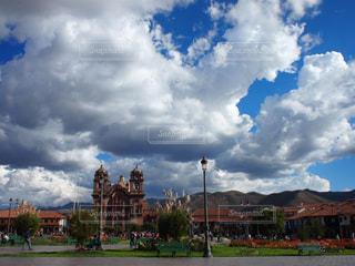 クスコの広場の写真・画像素材[1225706]