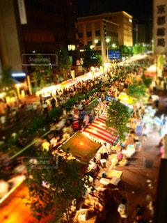 祇園祭・宵山を職場からの写真・画像素材[1230704]