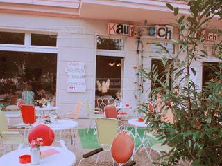 ベルリンのカフェの写真・画像素材[1231823]