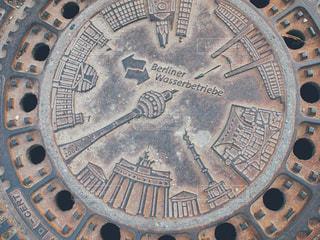 ベルリンのマンホールの写真・画像素材[1231961]