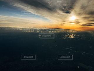 初夏の北海道 夕暮れの写真・画像素材[1236702]