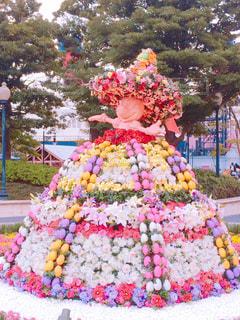 お花のスカートの写真・画像素材[1237241]