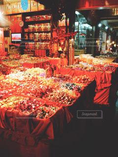 台北のマーケットの写真・画像素材[1237739]